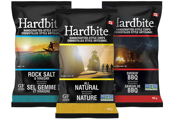 Hardbite Chips | Handcrafted-Style Chips | All Natural Potato Chips